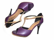 RAFAELA 85 Gold Slim/Purple & Gold Leather