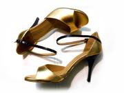 DIVINE 85 Gold & Black Patent