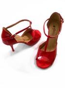 RAFAELA 85 Red & Patent